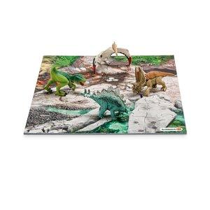 Schleich 42213 Mini Dinos mit Puzzle Entdeckerzone