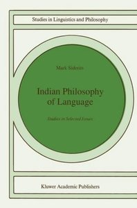 Indian Philosophy of Language