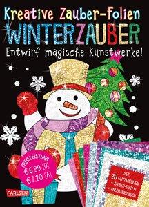 Kreative Zauber-Folien: Winterzauber: Set mit 10 Zaubertafeln, 2