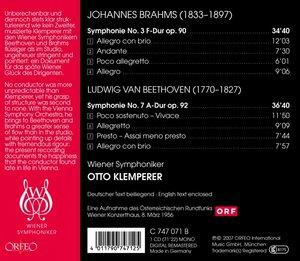 Sinfonie 3 op.90/Sinfonie 7 op.92
