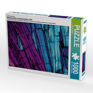 Ein Motiv aus dem Kalender Mikrokristalle in polarisiertem Licht