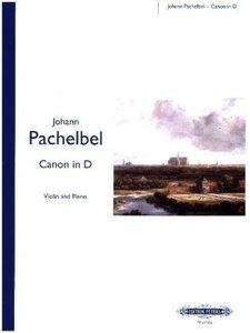 Kanon (Canon) in D-Dur, für Violine und Klavier, Klavierpartitu