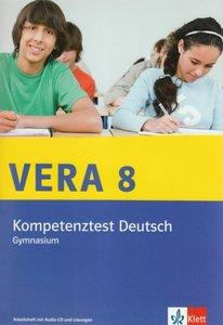 VERA 8 Deutsch (Gymnasium) Kompetenztest. Arbeitsheft mit Audio-