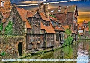 Brügge - Venedig des Nordens (Wandkalender 2020 DIN A2 quer)