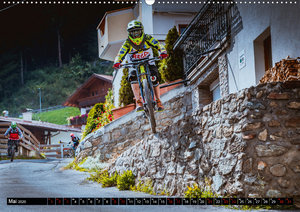 Downhill Action (Wandkalender 2020 DIN A2 quer)