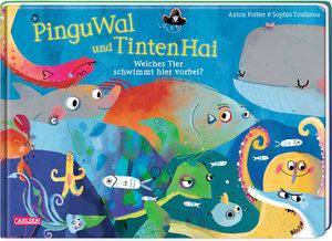 PinguWal und TintenHai - Welches Tier schwimmt hier vorbei?