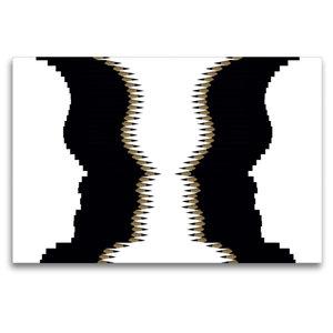 Premium Textil-Leinwand 120 cm x 80 cm quer Kippbild
