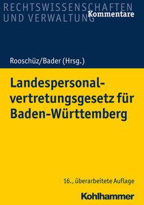 Landespersonalvertretungsgesetz für Baden-Württemberg