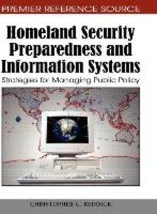Homeland Security Preparedness and Information Systems: Strategi