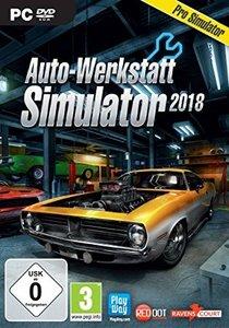 Auto-Werkstatt Simulator 2018, 1 DVD-ROM