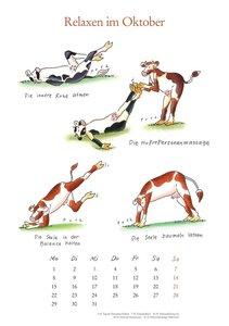 Yoga für Kühe - Mit den Yoga-Kühen durchs Jahr 2018