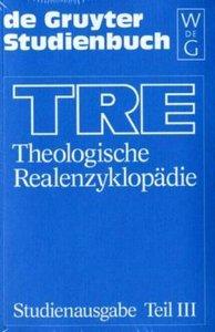 Theologische Realenzyklopädie 3