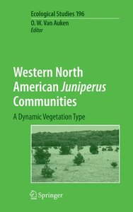Western North American Juniperus Communities