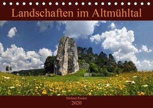 Landschaften im Altmühltal (Tischkalender 2020 DIN A5 quer)