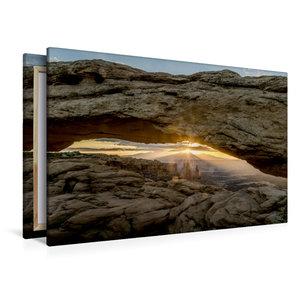 Premium Textil-Leinwand 120 cm x 80 cm quer Mesa Arch, Canyonlan