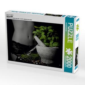 CALVENDO Puzzle spicy skin 2000 Teile Lege-Größe 90 x 67 cm Foto