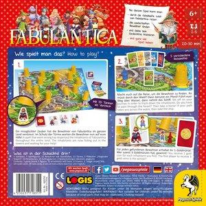 Pegasus 66025G - Fabulantica, Merkspiel, Reise-Spiel, Familiensp