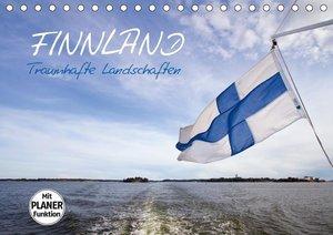 FINNLAND Traumhafte Landschaften (Tischkalender 2019 DIN A5 quer