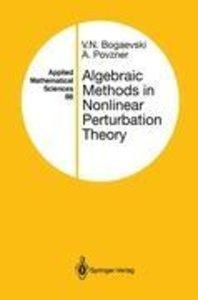 Algebraic Methods in Nonlinear Perturbation Theory