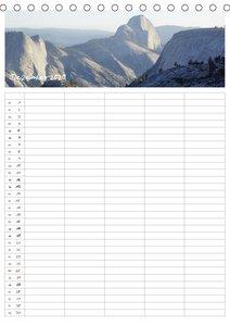 Kalifornien - Familienplaner 2020 (Tischkalender 2020 DIN A5 hoc