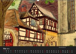 Deutschland in Aquarell (Wandkalender 2019 DIN A2 quer)