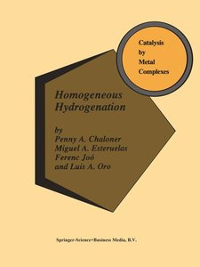 Homogeneous Hydrogenation
