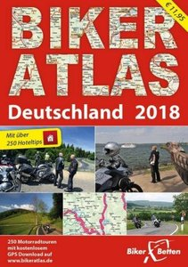 Biker Atlas Deutschland 2018