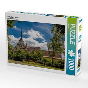 Ehemaliges Spital 1000 Teile Puzzle quer