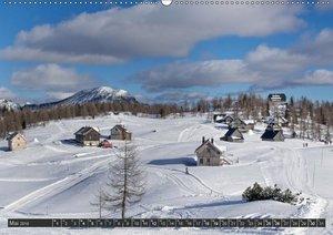 Winter auf der Tauplitzalm (Wandkalender 2019 DIN A2 quer)