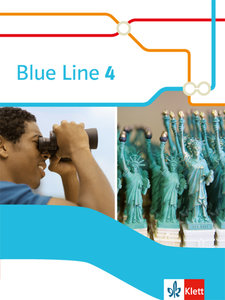 Blue Line. Schülerbuch (fester Einband). Klasse 8