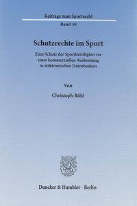 Schutzrechte im Sport