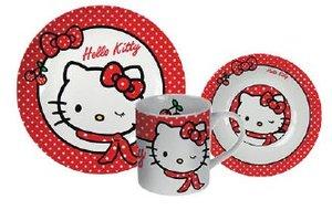 p:os 68171 - Hello Kitty: Frühstücksset