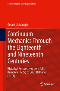 Continuum Mechanics Through the Eighteenth and Nineteenth Centur