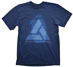 Assassins Creed IV - Blackflag - Distant Lands -T-Shirt - Blau -