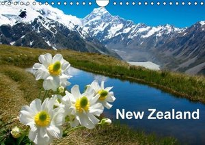 New Zealand (Wall Calendar 2015 DIN A4 Landscape)