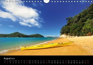 New Zealand (Wall Calendar 2015 DIN A4 Landscape)