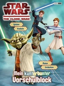 Star Wars The Clone Wars Vorschulblock