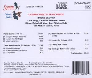 Piano Quintet/Three Noveletten/Rhapsody Trio/...