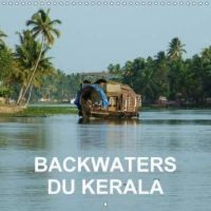 Backwaters du Kerala (Calendrier mural 2015 300 × 300 mm Square)