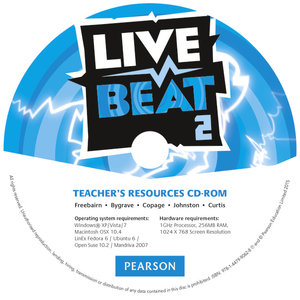 Live Beat 2 Teacher's Resources CD-ROM