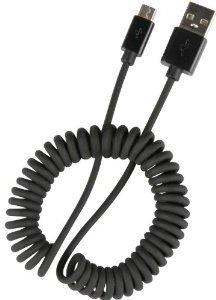 Speedlink Pecos Spiral Micro USB Charging Cable schwarz