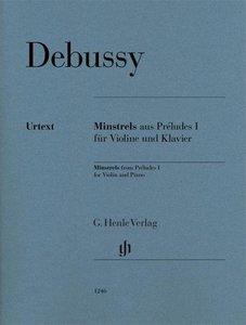 """Minstrels aus """"Préludes I für Violine und Klavier"""