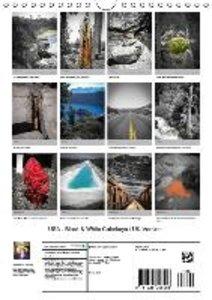 USA - Black & White Colorkeys / UK-Version (Wall Calendar 2015 D