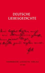 Deutsche Liebesgedichte