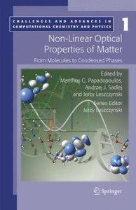 Non-Linear Optical Properties of Matter