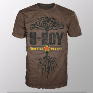 Pray Fi Di People (Shirt L/Brown)