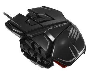M.M.O. TEÖ Gaming-Maus für PC und Mac, schwarz-glossy