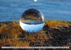 Hommage à la boule de verre (Calendrier mural 2016 DIN A3 horizo
