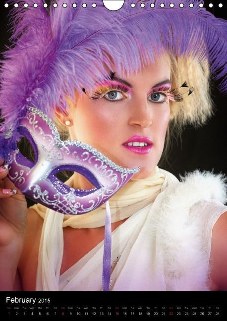 Creative Make-Ups / UK-Version (Wall Calendar 2015 DIN A4 Portra - zum Schließen ins Bild klicken