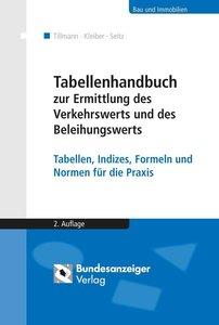 Tabellenhandbuch zur Ermittlung des Verkehrswerts und des Beleih